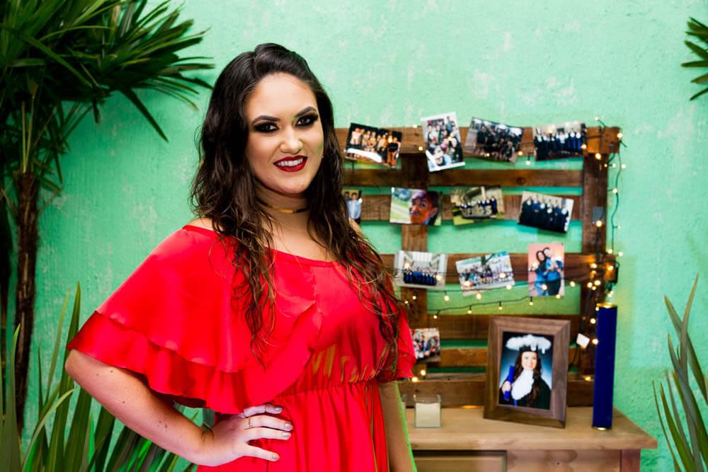 Linda fotografia de festa de formatura em Porto Alegre, Rio Grande do Sul.
